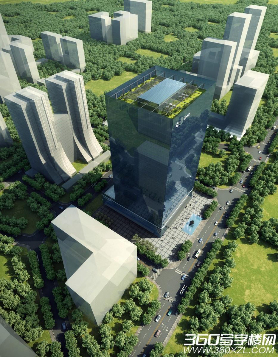 新长安广场二期鸟瞰图