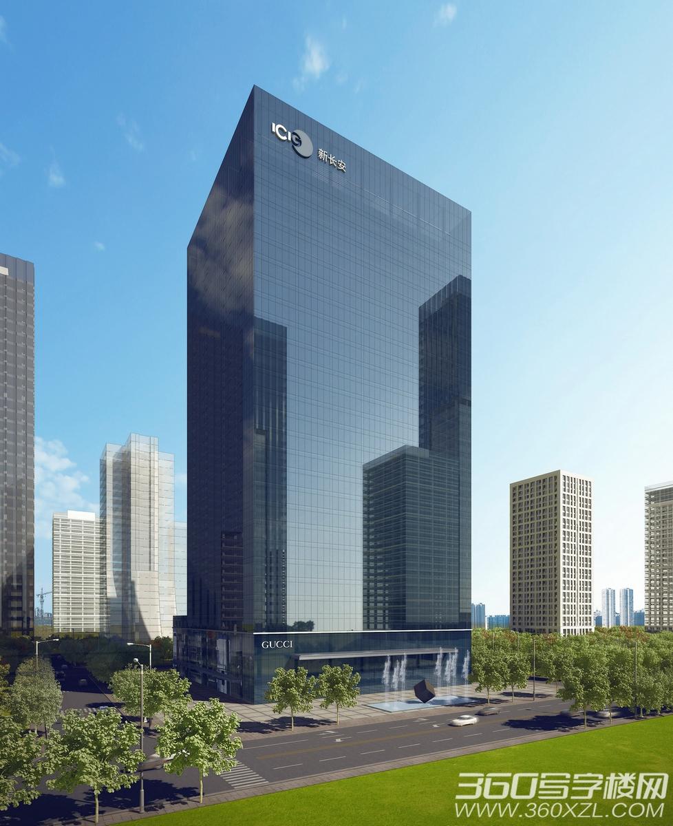 新长安广场二期效果图