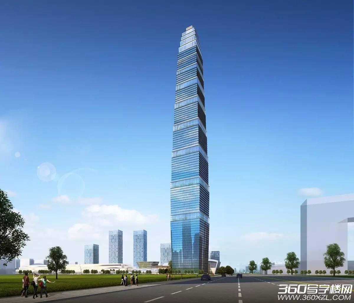 西安西咸新区丝路国际中心-501米绿地国际金融中心项目概况