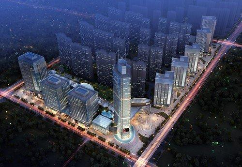 首创国际城 112 效果图