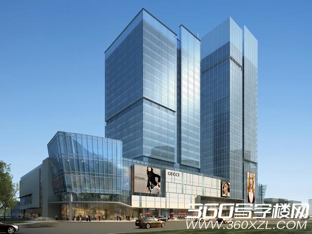 景泰城项目建筑设计由美国凯里森设计事务所设计,商业规划由英国第