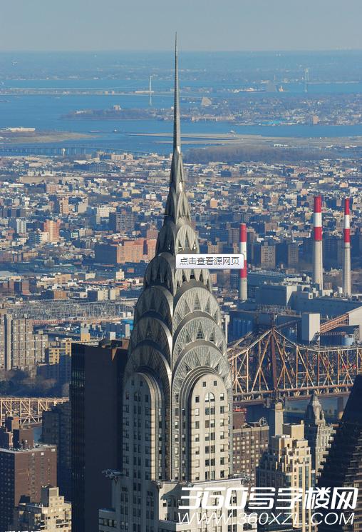 [美国]克莱斯勒大厦20世纪摩天楼设计典范