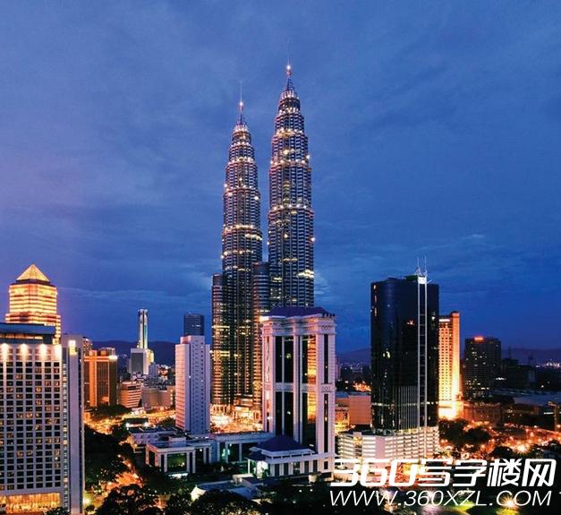 [吉隆坡]世界最高双塔楼 马来西亚地标建筑