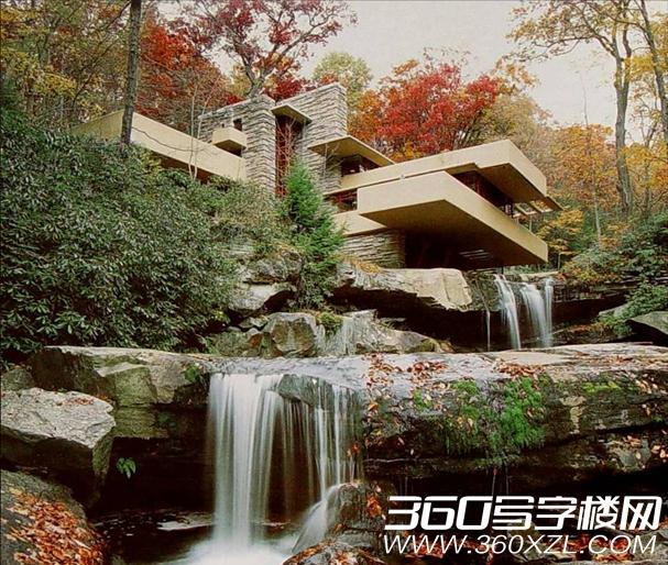 [匹兹堡]位于美国匹兹堡市的现代建筑杰作流水别墅