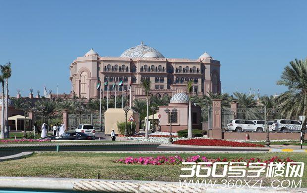 [阿布扎比]世界上唯一一所八星级酒店 酋长国宫殿酒店